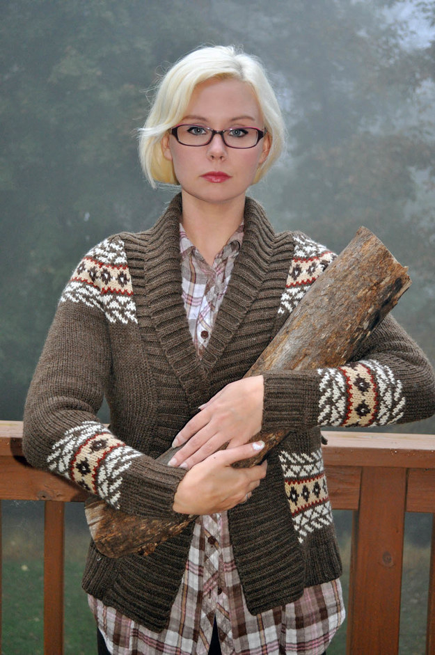 Log Lady from Twin Peaks
