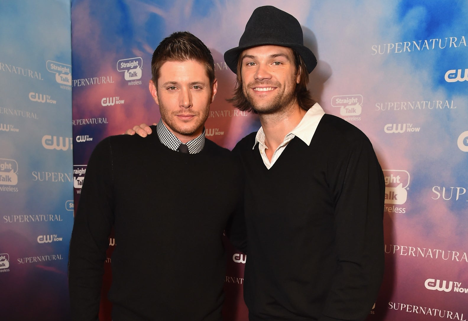 They star in the CW's hit show Supernatural as crime-fighting brothers who travel the country to hunt down evil creatures.