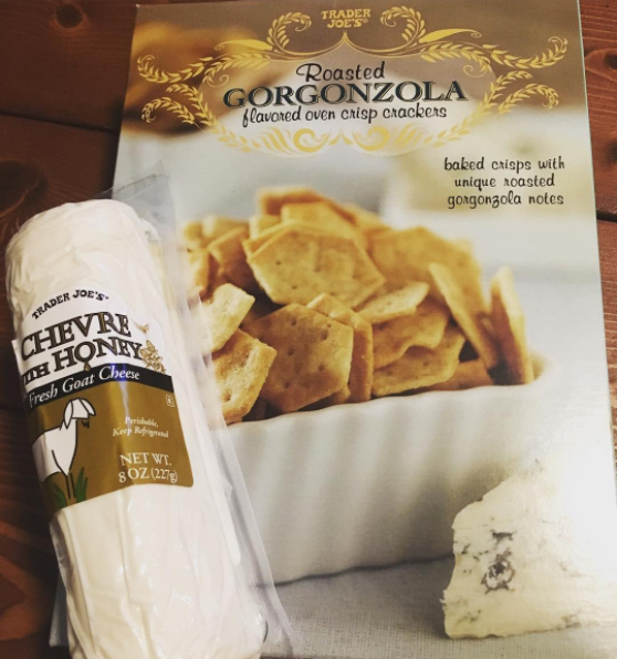 My daughter is obsessed with the Gorgonzola Crackers. She has been since she was one and a half. We always have to have a box around for her.—Amy Ortega, Facebook