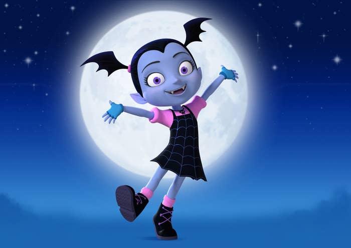 Disney Estreno Vampirina Un Dibujo Animado Que Amaras Si Tienes