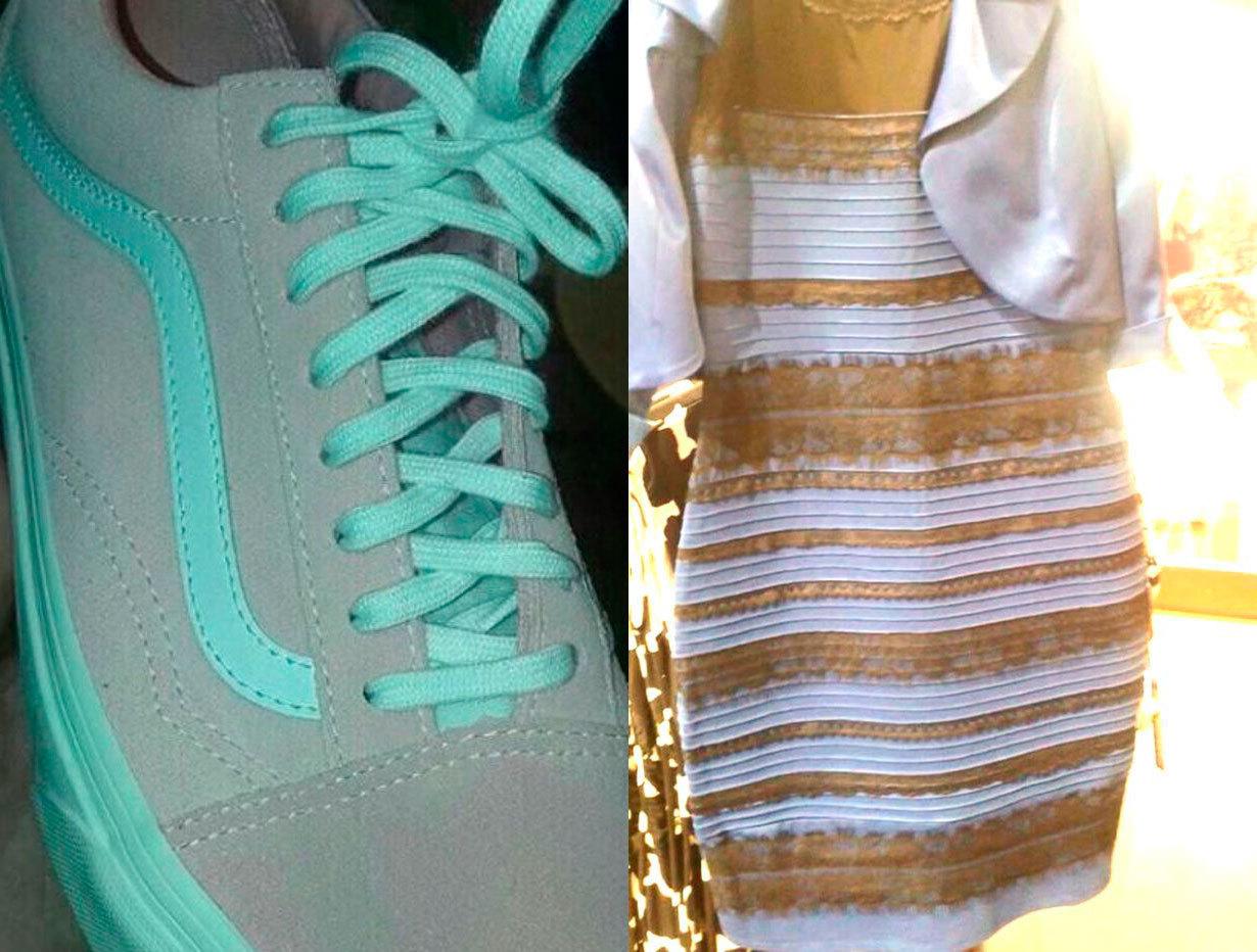 zapatillas vans azules y grises