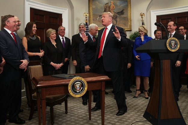 President Trump gathered media in the White House on Thursday to watch him sign an executive order on health care. The measure, which could radically transform Obamacare, is a very important one and BuzzFeed News has a whole story on it you can read here.