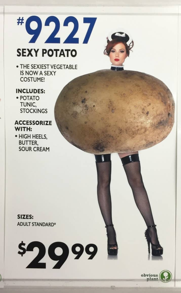 Finally, a costume that sums up how I feel when I forget to contour.