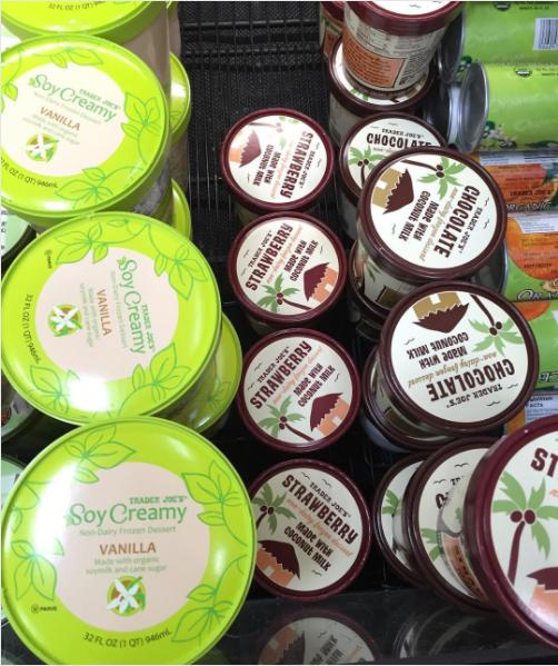 Soy Creamy Non-Dairy Frozen Dessert