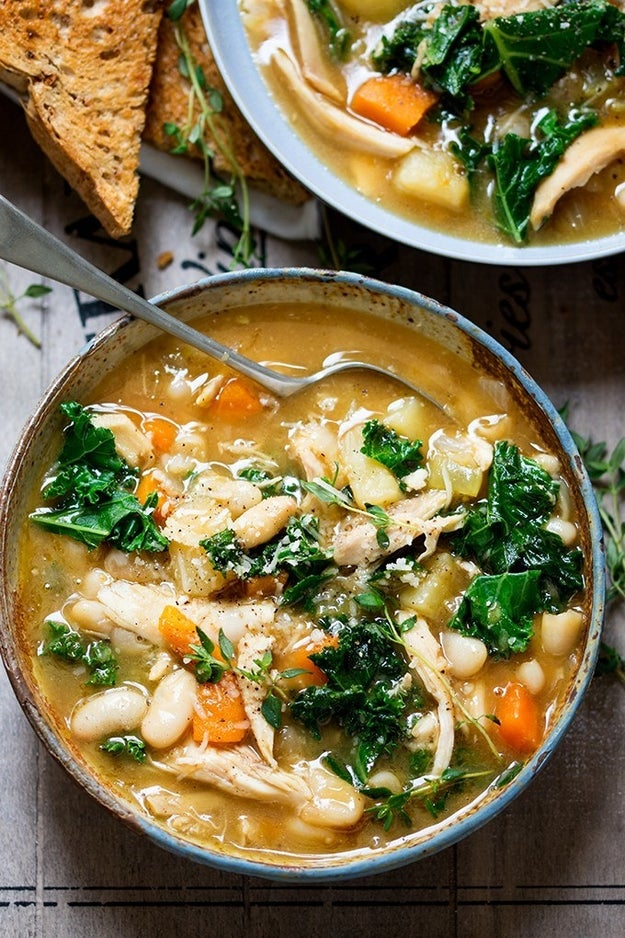 Tuscan-Style Chicken Soup