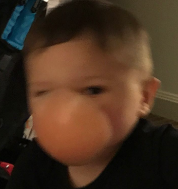 "And Jenni reacted on Twitter like this: ""Yup my son's face looks like a boob! 😂😂😂 lmao I die over this pic every time I see it!!!!"""