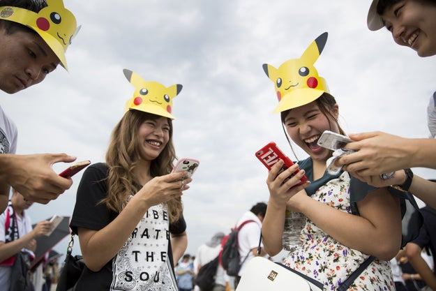"Another big story from last year? The sudden, explosive popularity of Pokémon Go, the app game that allows users to walk around outside ""to catch"" the digital, Japanese creatures."
