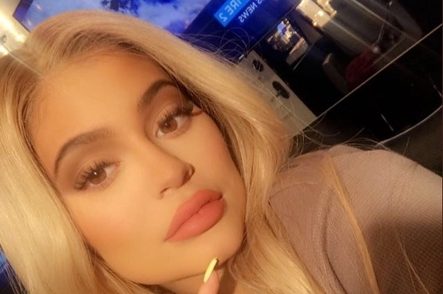 Kylie Jenner Promoted Her Lip Kit While The World Quite Literally Burned Behind Her