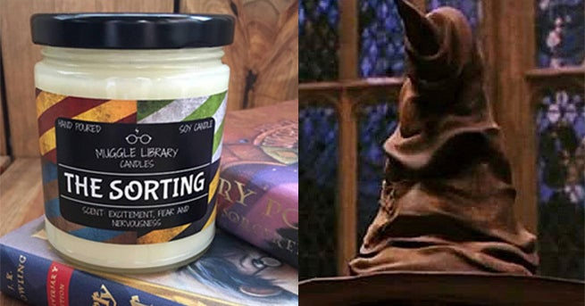 You Can Now Be Sorted Into Your Hogwarts House Via Candle