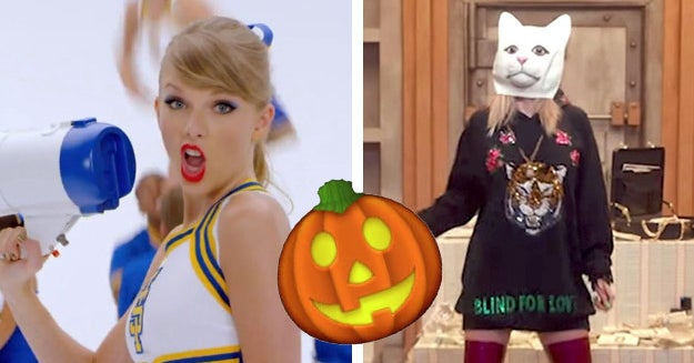 Choose Some Taylor Swift Songs And We'll Tell You What You Should Dress Up As For Halloween
