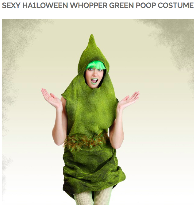 """So, how did you guys meet?"" ""Well, I was at a Halloween party dressed as a lump of green shit..."""