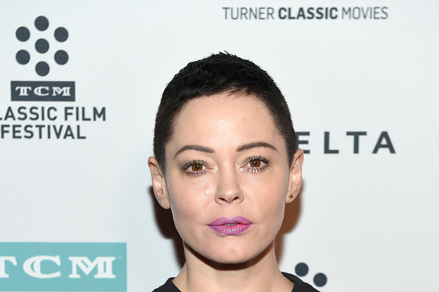 Rose McGowan Tweeted That She Told The Head Of Amazon's Studio