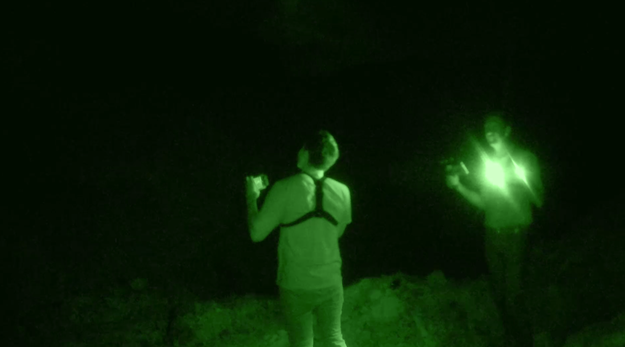 When the guys tried to contact the seven miners killed there, they detected no paranormal activity.
