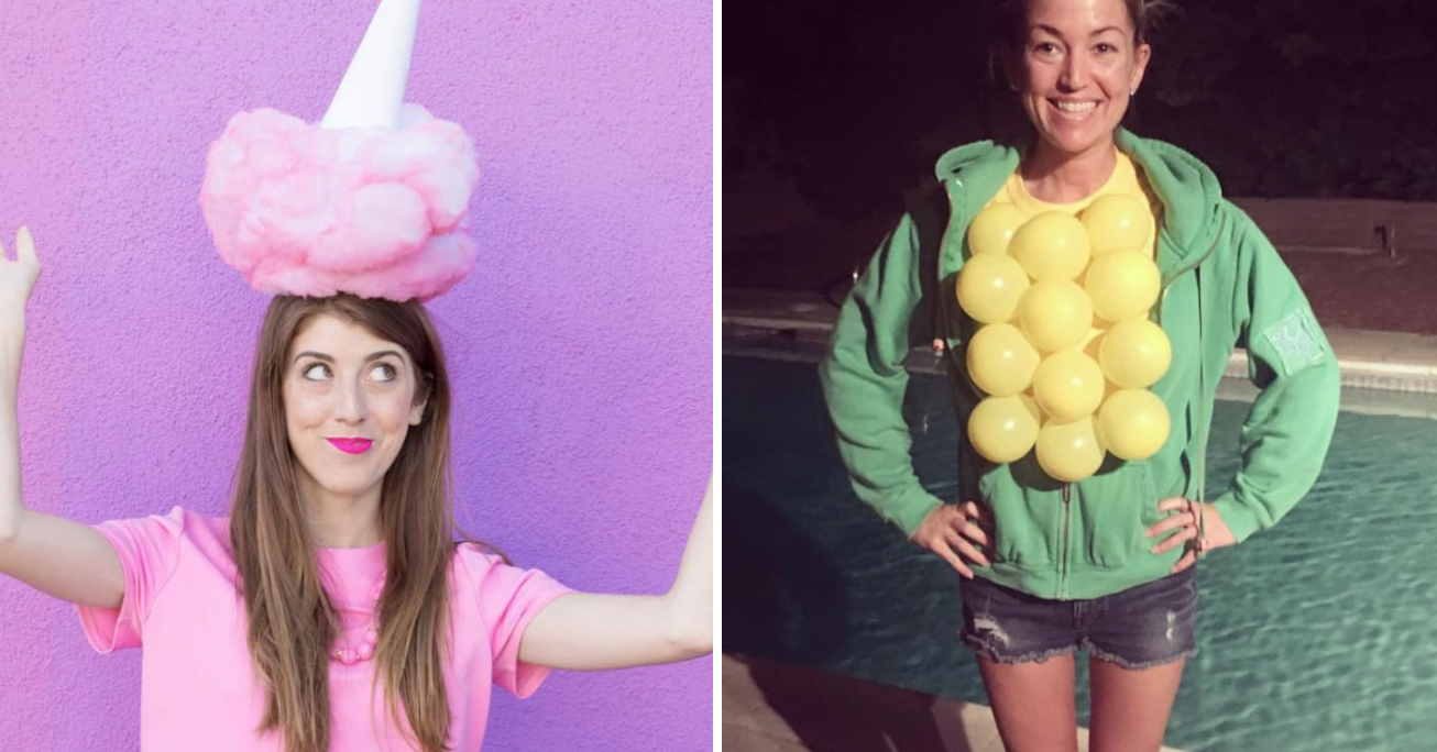 23 DIY Halloween Costumes So Clever, You'll Be Mad You Didn't Think Of It First