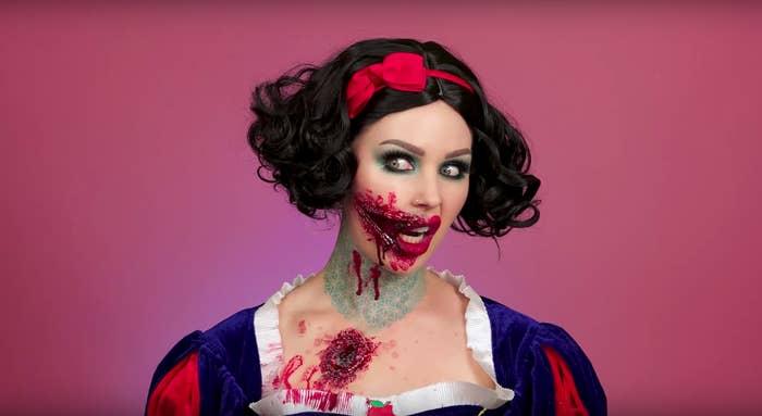 21 Increíbles Maquillajes De Halloween Que Honestamente Son