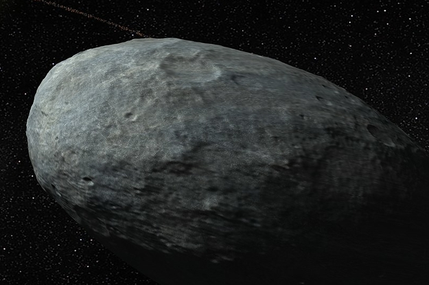 This Potato-Shaped Dwarf Planet Has Got A Ring Around It
