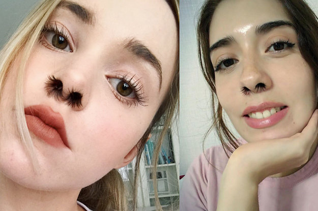 2017 Beauty Trends Have Officially Peaked With Fake Nose -5298