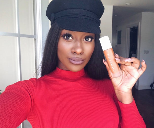 Fenty Beauty Pro Filt'r Soft Matte Longwear Foundation in in 440 because it'll keep you snatched on the hottest days.