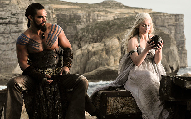 For those unfamiliar with the popular HBO show, Momoa's character, Khal Drogo, raped his then-wife Daenerys, played by Emilia Clarke. Despite the heinous act, the two eventually fell in love.