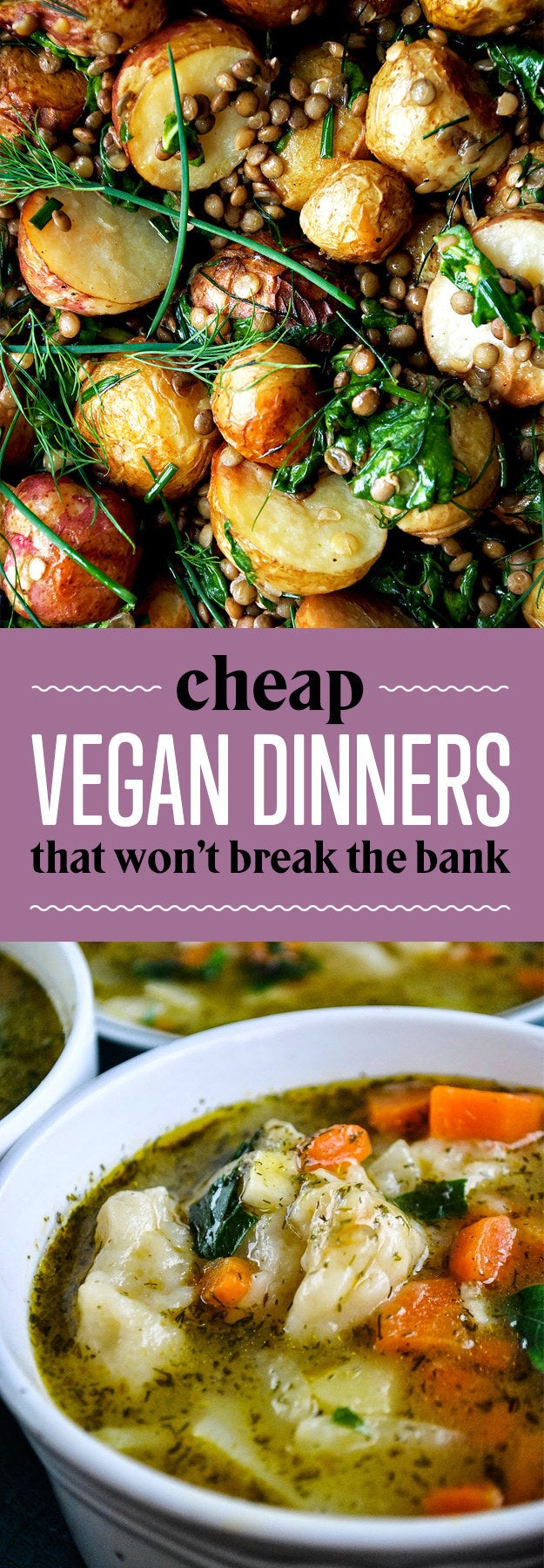 26 Budget Friendly Dinners With No Meat Or Dairy