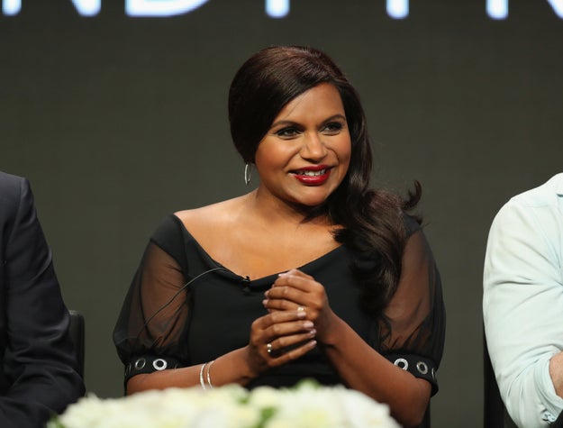 ICYMI, Mindy Kaling, the light of my life, is pregnant with her first child.