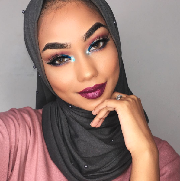 Sabina Hannan is serving serious glam with Astro-Naughty Cosmic Gloss.