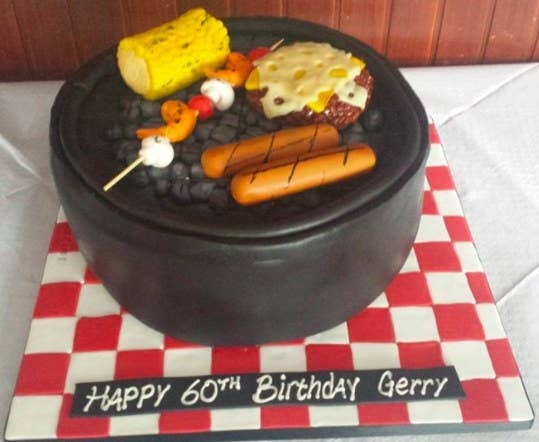 BBQ Is Everyones Favorite Food And Cake