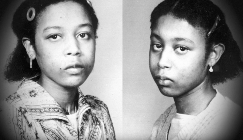 They were twin sisters who only spoke to each other. They became criminals and were eventually sent to a psych ward for 11 years. One sister killed herself in order for the other to start living a normal life. Eerie and interesting!—chrisjay