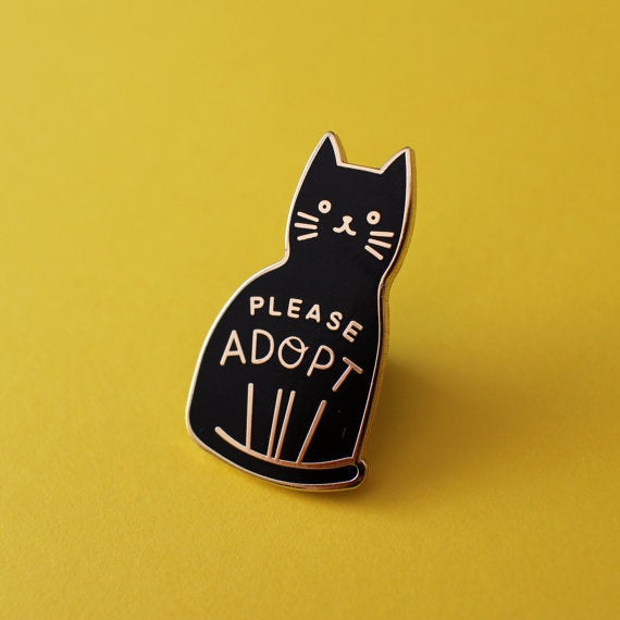 Like this adorable pin, which you can buy for $10 here!