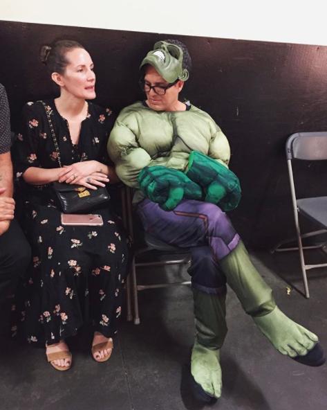 Mark Ruffalo cosplayed as himself.