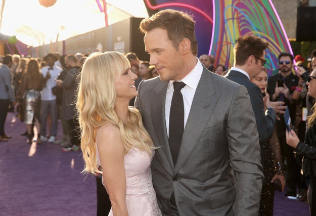 If you weren't aware of this news then I apologise for breaking your heart: In August, after 10 years of marriage, Chris Pratt and Anna Faris announced they were to divorce.