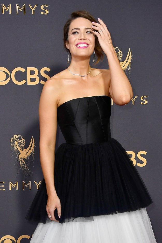 I think we can all agree that Mandy Moore is beautiful, talented, and incredibly sweet. I mean, she's a freaking Disney princess for crying out loud!