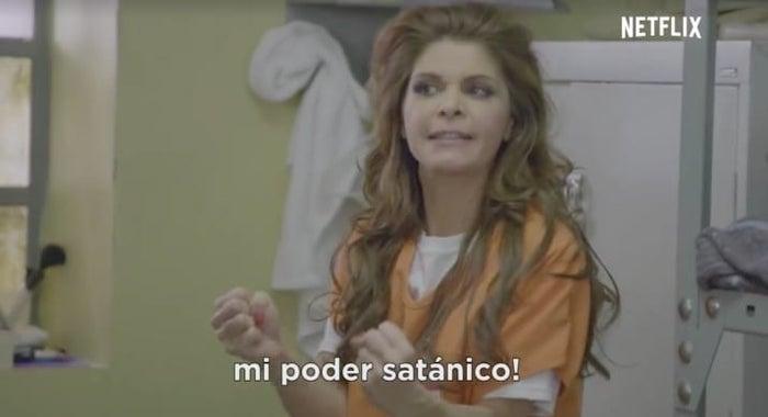Itatí Cantoral para Orange is the New Black, Jaime Maussan para Stranger Things y Paquita la del Barrio para Narcos.