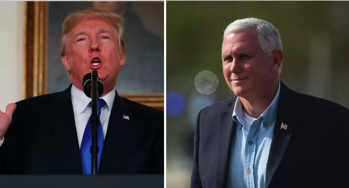 """The anecdote, in the new profile of Pence by Jane Mayer, is an account of a meeting with a legal scholar, in which Trump supposedly made the comment about the vice president's thoughts on LGBT rights. Two unnamed sources told The New Yorker that Trump jabbed at Pence for his stance on both abortion and gay rights in that meeting.According to the piece, Trump """"belittled"""" Pence's """"determination to overturn Roe v. Wade"""" — the Supreme Court ruling that legalized abortion. After the scholar explained that states might go ahead and legalize abortion independently if the Supreme Court were to overturn the decision, the president then remarked to Pence that he was wasting his time.""""You see? You've wasted all this time and energy on it, and it's not going to end abortion anyway,"""" Trump reportedly said to him.After the conversation shifted to gay rights, Trump, according to the piece, gestured to Pence and said: """"Don't ask that guy—he wants to hang them all!""""The vice president's office did not immediately return request for comment, but Alyssa Farah, a spokesperson for Pence, pushed back on the piece in a statement to The Indianapolis Star.""""Articles like this are why the American people have lost so much faith in the press,"""" Farah said.""""The New Yorker piece is filled with unsubstantiated, unsourced claims that are untrue and offensive."""""""