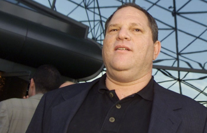 Harvey Weinstein at the premiere of The Others in Los Angeles in 2001.