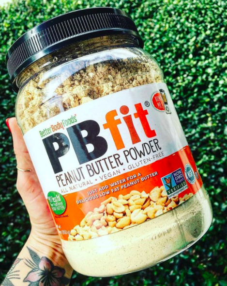 """""""It's a powdered peanut butter that tastes almost identical to the fancy stuff — but it's way cheaper, and it comes in a huge container.""""―sarahalarid93"""