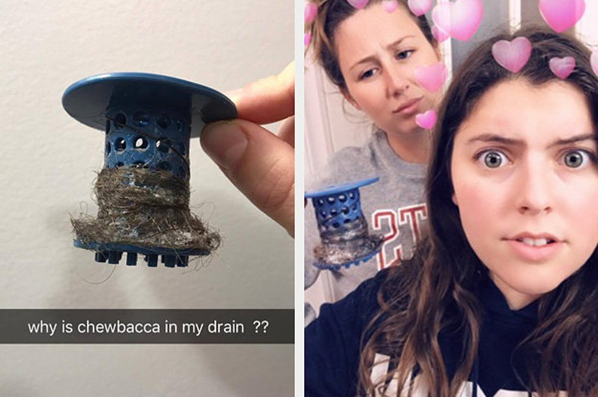 This Mushroom-Shaped Hair Catcher Is So Gross, But Really Satisfying