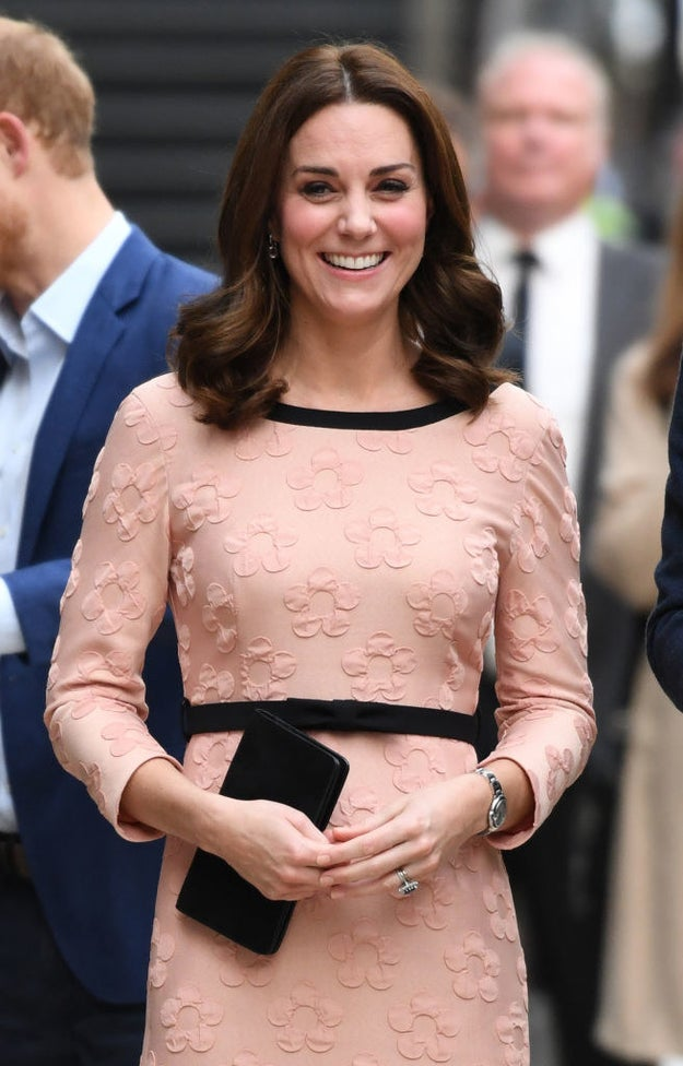 You know Catherine, Duchess of Cambridge, yes?