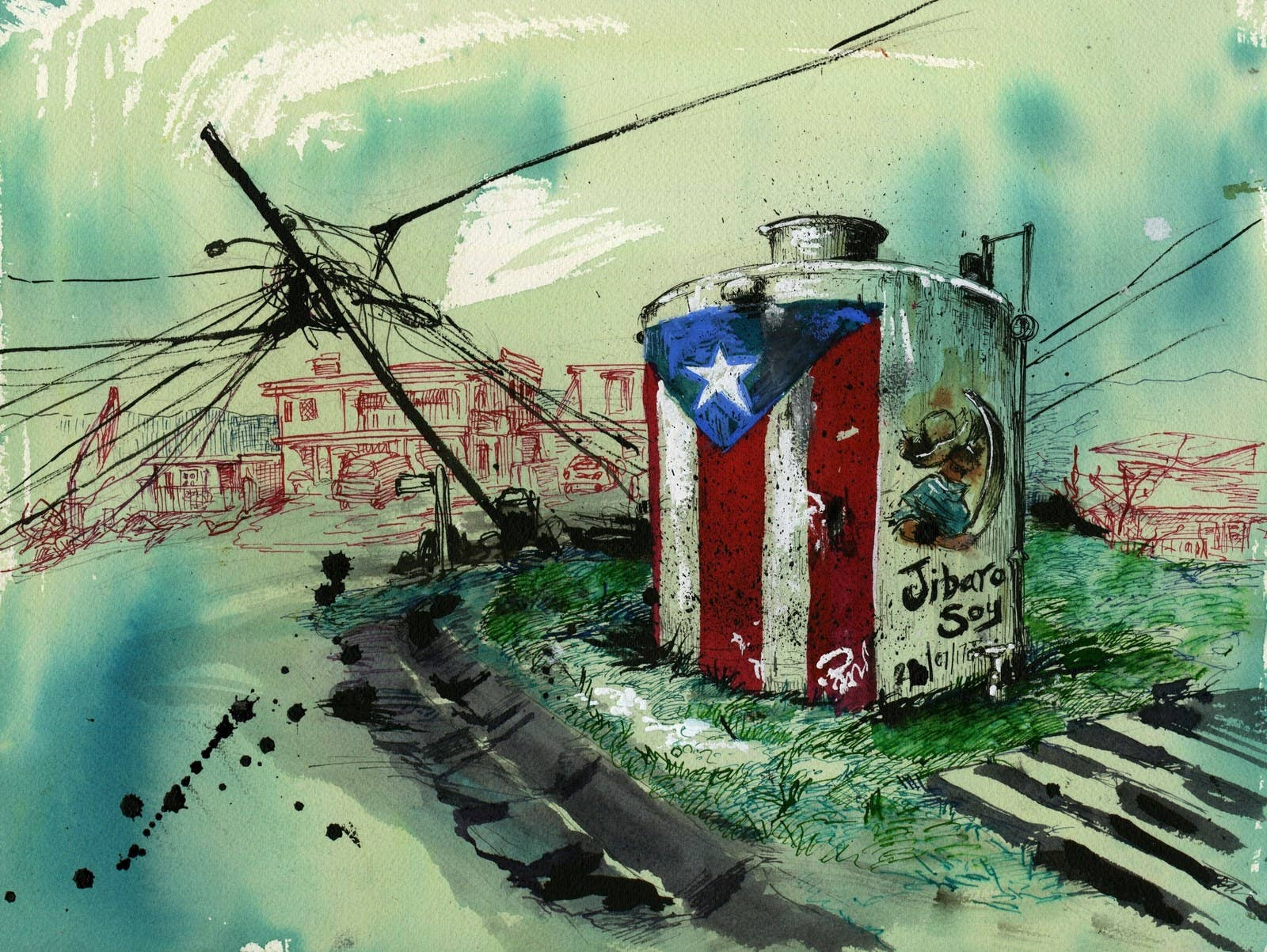 How one small town in puerto rico found food and community after maria share on facebook share biocorpaavc Images