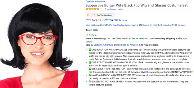 "This ""Supportive Burger Wife"" absolutely shouldn't be confused with Bob's Burgers' Linda Belcher."