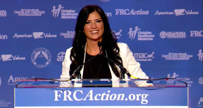 Dana Loesch at the Values Voter Summit Friday.