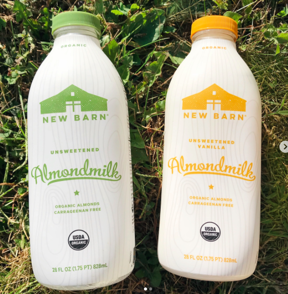 New Barn Almond Milk