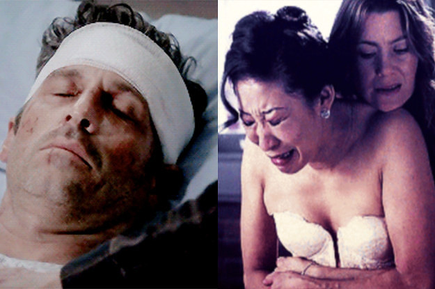 """27 Heartbreaking Moments From """"Grey's Anatomy"""" You'll Never Forget"""