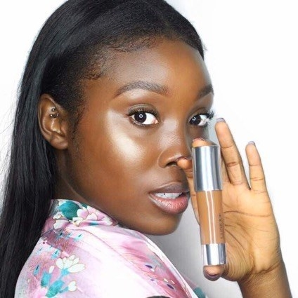 Clinique Chubby In The Nude Foundation Stick in Ample Amber because it's all you need for the perfect glow up.