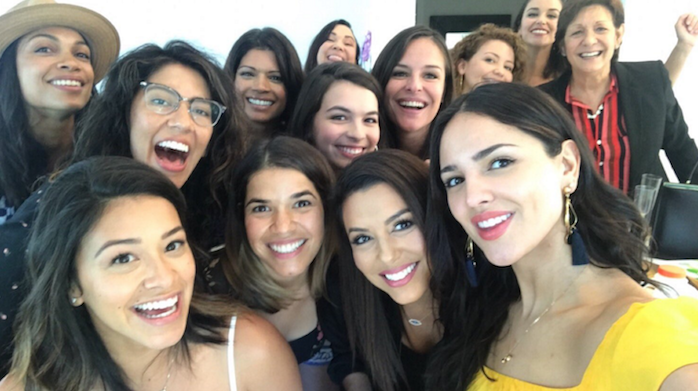 This group of #FiercelyLatinas in Hollywood got together for what appears to be the greatest get-together in the history of get-togethers.