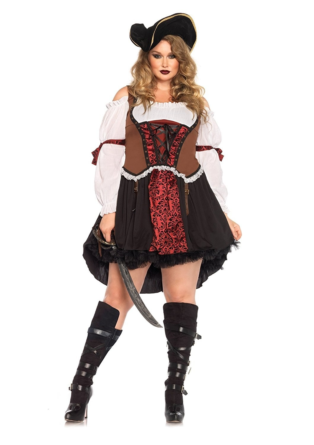 A pirate costume thatu0027ll have you feeling like youu0027re in the Caribbean. (READ on vacation and not at work.)  sc 1 st  BuzzFeed & 28 Halloween Costumes From Amazon Youu0027ll Actually Want To Wear