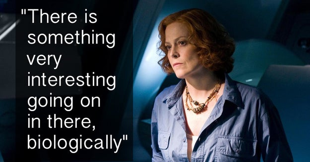 When biologist Dr. Grace Augustine noticed something very interesting going on in there biologically in Avatar.