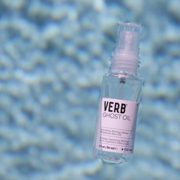 """Promising review: """"This was suggested to me by my hair stylist, and what a great suggestion! I use Verb Ghost Oil daily for extra shine when I'm heading out the door. I started using this product daily, and my hair is shinier and softer than ever. I also really like that it's so light and never leaves any residue or heavy feeling in my hair."""" —EmilyGet it from Amazon for $14.99."""