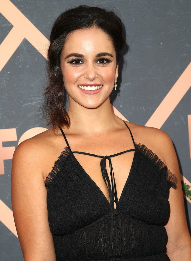 "Melissa Fumero, also from Brooklyn Nine-Nine, told BuzzFeed that being #fiercelyLatina means ""being surrounded by all these incredibly badass women and artists"" and ""promising to support one another and all Latinas no matter what."""
