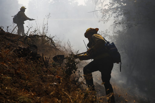 Nearly 11,000 firefighters from across the US, Canada, and Australia have come together to wage war against the massive wildfires that have killed at least 40 people, consumed 5,700 homes and businesses, and swallowed huge swaths of farmland, cities, vineyards, and rural towns.